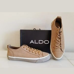 ALDO Casual Sneakers, Size 11 Color: Natural NEW
